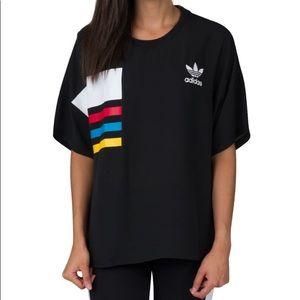 Adidas Boxy Chiffon Tee